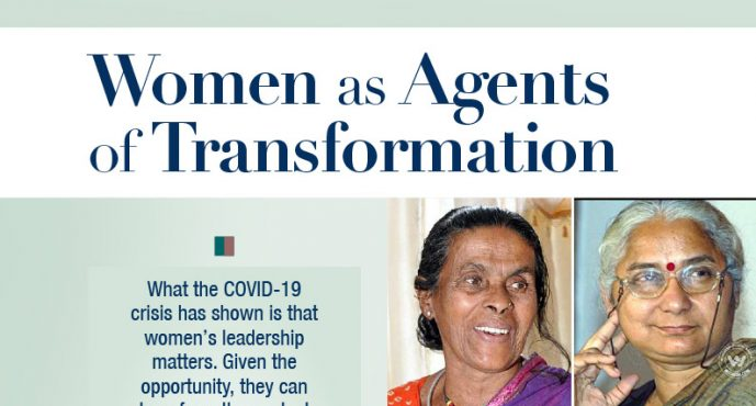 Women as agents of transformation